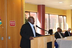 Mr. Michael Brotherson - Head of the Diaspora Unit, Ministry of Foreign Affairs
