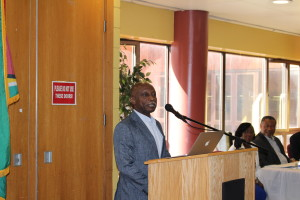 The Honourable Minister of Foreign Affairs Mr. Carl Greenidge